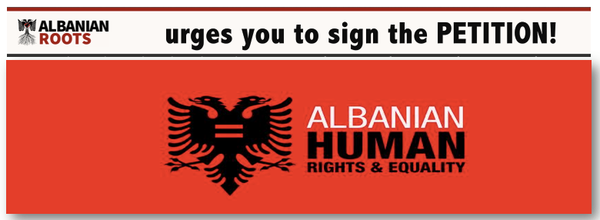 ALBANIAN HUMAN RIGHTS PETITION