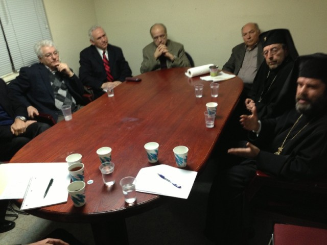 Albanian Roots Meeting With Bishop Joan Pelushi And Archbishop Nikon Liolin
