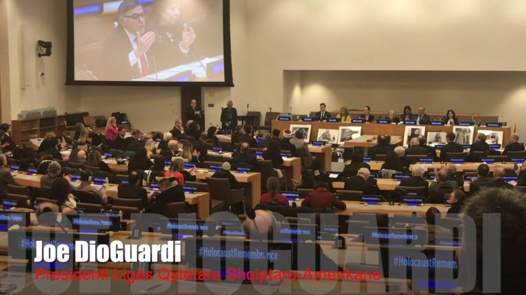 Fr. Congressman Joe DioGuardi – Holocaust Remembrance Speech at United Nations